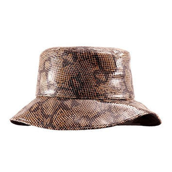 Eric Javits Women's Boa Rain Hat One Size Taupe Mix