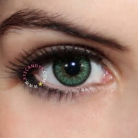 Royal Vision Love Color Green Contact Lenses | EyeCandy's