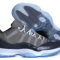 Cheap Air Jordan 11 Low Men Shoes Cool Grey Hot Sale