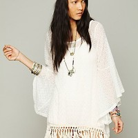 Free People Gypsy Junkies Mimi Fringe Tunic