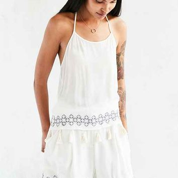 Native Youth Embroidered Trouser Short