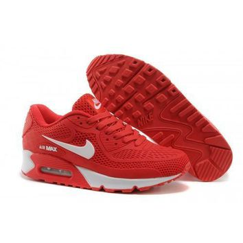 Nike Air Max 90 KPU Men s Women s Shoes Red White