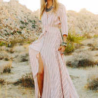 PRE SALE // Island Boho Gown - Coral