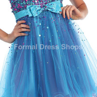 SHORT SEQUINED HOMECOMING BRIDESMAID COCKTAIL PROM GRADUATION DRESSES PINK BLUE