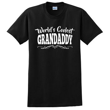 World's coolest grandaddy Father's day birthday gift ideas for new grandpa proud grandfather gifts for him T Shirt