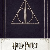 HARRY POTTER DEATHLY HALLOWS RULED JOURNAL