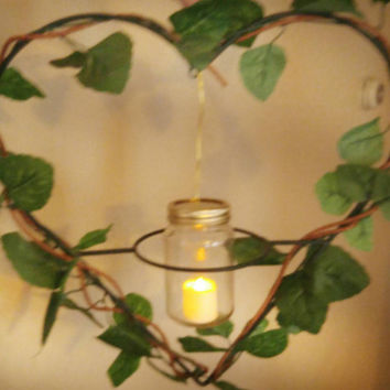Outdoor wedding decor-heart shaped wedding decor-wedding lighting-garden wedding decor-backyard lighting-party decor