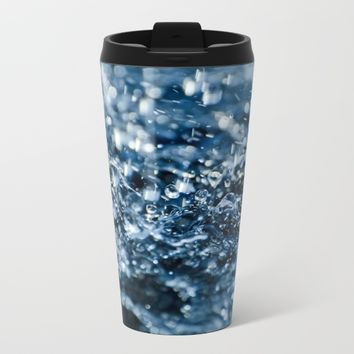 Raining Metal Travel Mug by Creativepics