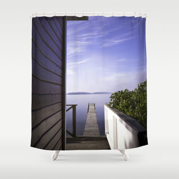 Not France... Shower Curtain by HappyMelvin