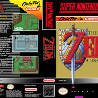 Zelda Link to the Past - Super Nintendo (Ugly Game Only)