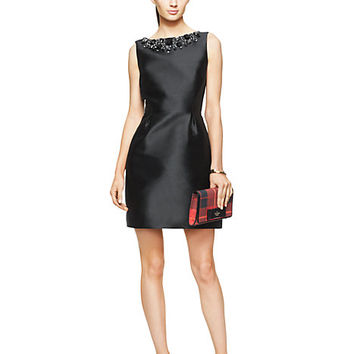 Kate Spade Embellished Open Back Dress