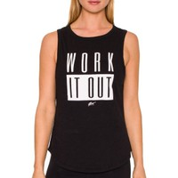 Betsey Johnson Performance Women's Work It Out Tank Top