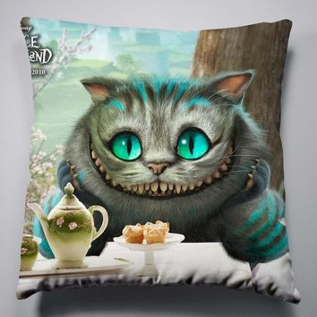 Anime Manga Alice In Wonderland Pillow 40x40cm Pillow Case Cover Seat Bedding Cushion 009
