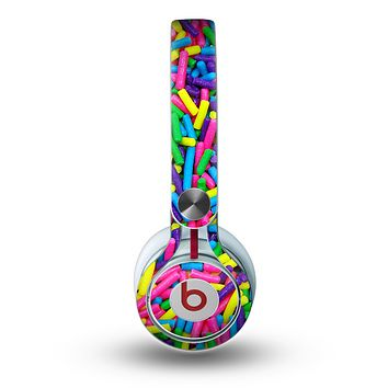 The Neon Sprinkles Skin for the Beats by Dre Mixr Headphones