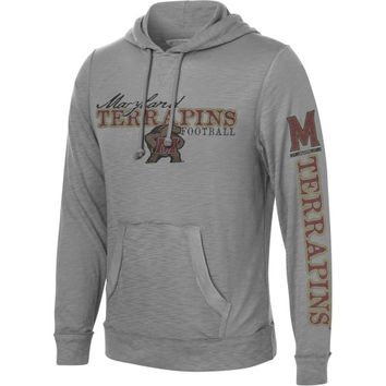 Levelwear Maryland Terrapins Colt Slub Knit Hooded Sweatshirt