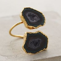 Dara Ettinger Druzy Wrap Ring in Purple Motif Size: One Size Rings