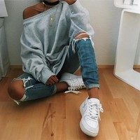 Winter Long Sleeve Tops Hoodies [28275638298]