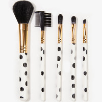 Polka Dot Brush Set