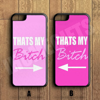 Funny BFF Best Friend Pink Cute Couple Case,Custom Case,iPhone 6+/6/5/5S/5C/4S/4,Samsung Galaxy S6/S5/S4/S3/S2