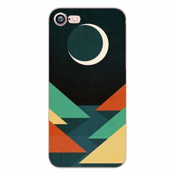 Ocean Wave Sun Mobile Phone Hard Case Cover For Apple Iphone 5 6 Plus 7 8 X 10