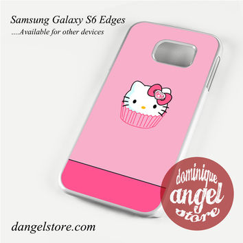 pink cake hello kitty Phone Case for Samsung Galaxy S3/S4/S5/S6/S6 Edge