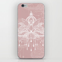 Blush mandala iPhone Skin by printapix