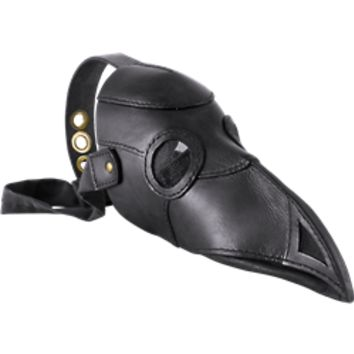 Leather Plague Doctor Mask - MCI-3090 by Medieval Collectibles