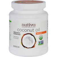Nutiva Coconut Oil - Organic - Superfood - Refined - 54 Oz