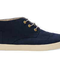 TOMS Eclipse Nylon Men's Paseo Mids Blue