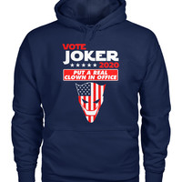 Vote For Joker 2020 Hoodie