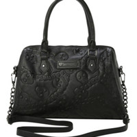 Loungefly Embossed Skulls & Chains Bag
