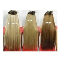 Maysu High Quality Human Hair Extension Black Color