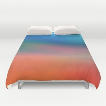 It's a Beautiful Day Duvet Cover by Lyle Hatch | Society6
