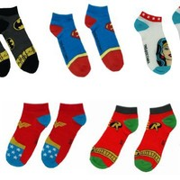 DC Superhero Sock Collection (5 Pack)