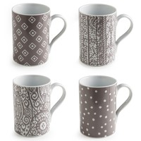 Rosanna Casablanca Mugs Set of 4