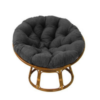 Walmart: International Caravan 42'' Rattan Papasan Chair with Microsuede Cushion