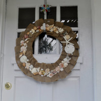 Sea Shell Wreath- One of a Kind