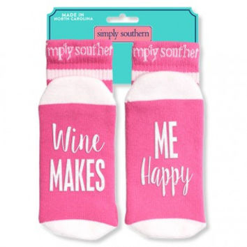 Makes Me Happy Socks by Simply Southern