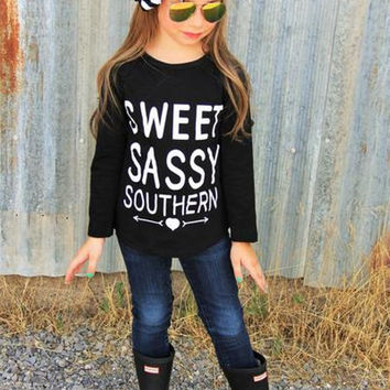 Sweet Sassy Southern Long Sleeve Shirt