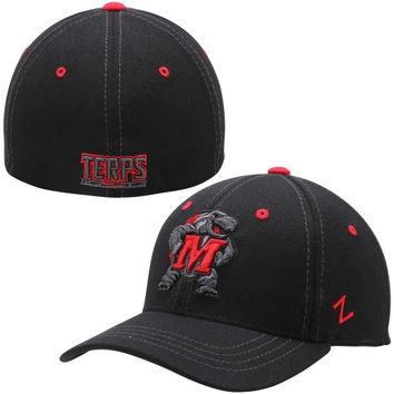 Maryland Terrapins Zephyr Basic Element Flex Hat – Black
