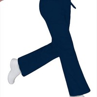 Buy Urbane Sports Women Two-Toned Waistband Medical Scrub Pants for $18.45