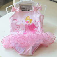Baby Girl Cartoon Swimsuit for Baby Girls Summer Bathing Suit Girls Toddler One-Piece/beach Wears
