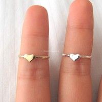 Cute Tiny Heart Ring