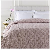 Monet Blush Pink Bedding Quilt