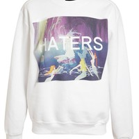 UNTITLED AND CO | Unisex Peter Pan Haters Cotton Sweatshirt | Browns fashion & designer clothes & clothing