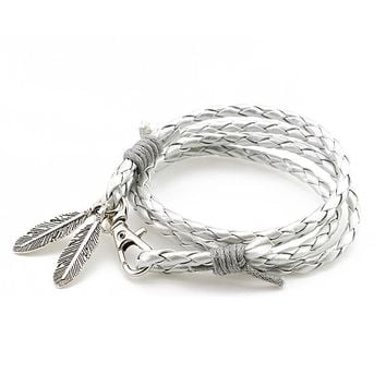 Fashion Jewelry PU Leather Bracelets  Bracelet Accessories
