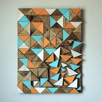 Triangle Wood Wall Art