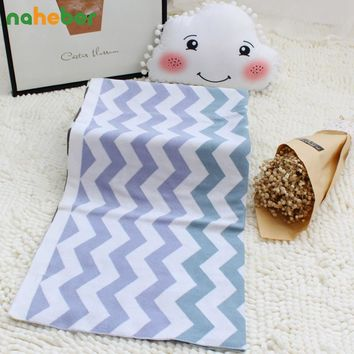 Cotton Knitted Baby Blanket Double Layer Super Soft Stroller Blanket Newborn Gift Infant Crib Bedding For Boy Girl 76*102cm