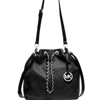 Michael Michael Kors Frankie Large Signature Shoulder Bag
