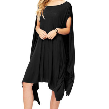 Afterglow Drape Dress